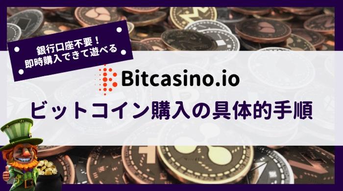 ビットカジノ ビットコイン購入